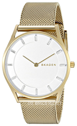 Skagen Holst White/Yellow gold toned steel Ø34 mm SKW2377