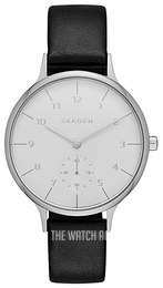 Skagen Anita Silver colored/Leather Ø34 mm SKW2415