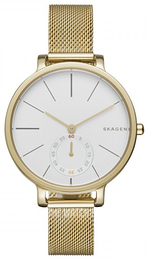 Skagen Hagen White/Yellow gold toned steel Ø34 mm SKW2436