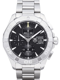 TAG Heuer Aquaracer Chronograph Black/Steel Ø43 mm CAY2110.BA0927