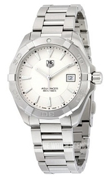 TAG Heuer TAG Heuer Aquaracer Silver colored/Steel Ø40.5 mm WAY1111.BA0928