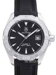 TAG Heuer TAG Heuer Aquaracer Silver colored/Rubber Ø40.5 mm WAY2110.FT8021