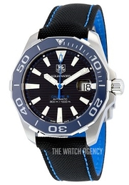 TAG Heuer Aquaracer Black/Textile Ø41 mm WAY211B.FC6363