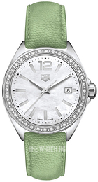 TAG Heuer Formula 1 Ladies White/Leather Ø35 mm WBJ131A.FC8249
