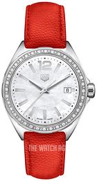 TAG Heuer Formula 1 Ladies White/Leather Ø35 mm WBJ131A.FC8250