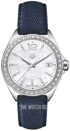 TAG Heuer Formula 1 Ladies White/Leather Ø35 mm WBJ131A.FC8251
