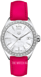 TAG Heuer Formula 1 Ladies White/Leather Ø35 mm WBJ131A.FC8252
