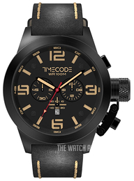 Timecode Nations 1945 Black/Leather Ø50 mm TC-1008-05