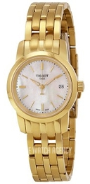 Tissot T-Classic Classic Dream White/Yellow gold toned steel Ø28 mm T033.210.33.111.00