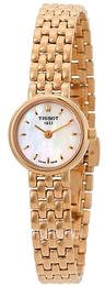 Tissot T-Lady Lovely White/Rose gold colored steel Ø19.5 mm T058.009.33.111.00