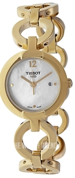 Tissot Pinky White/Yellow gold toned steel Ø30 mm T084.210.33.117.00