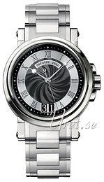Breguet Marine Black/Steel Ø39 mm 5817ST-92-SM0