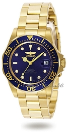 Invicta Pro Diver Blue/Yellow gold toned steel Ø40 mm 8930