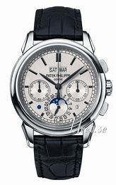 Patek Philippe Grand Complications Silver colored/Leather Ø41 mm 5270G