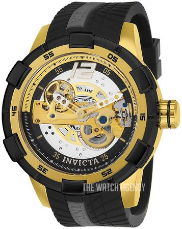 Invicta S1 Rally Black Rubber Ø51.5 mm ref. 26620 7b63b7cfdd2